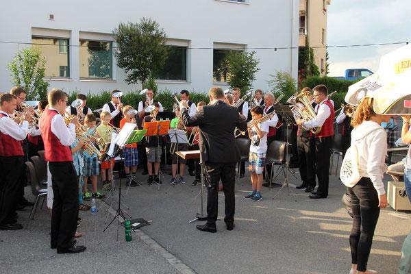 Massed Band: Jungbläser mit der MG Römerswil