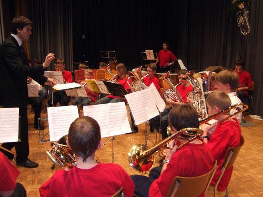 Jungmusikanten mit Mario Schubiger