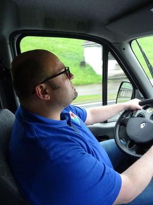Chauffeur Armin Müller