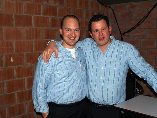 Beat Schmidiger und Adrian Jund