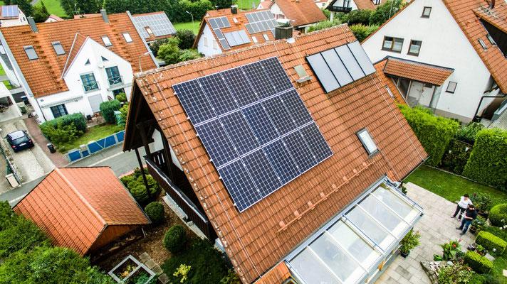 Solar liefert 100% Energie in Erlangen