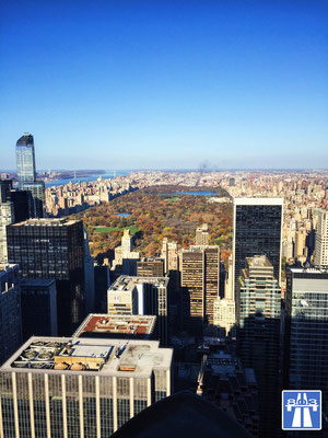 Top of the Rock, New York, Central Park