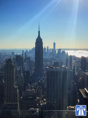 Manhattan, New York, Top of the Rock