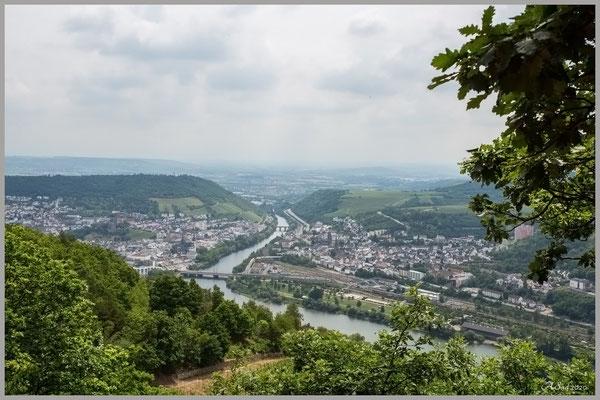Der Rhein , oberhalb von Rüdesheim
