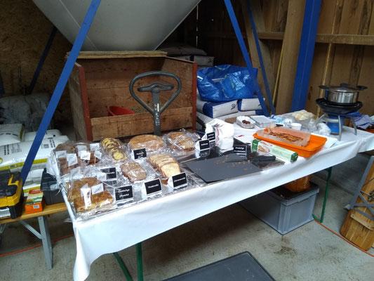 Das reichhaltige Kuchenbuffet