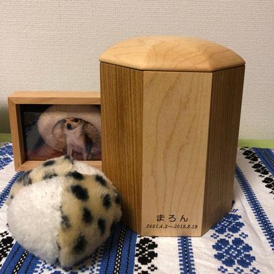 O様邸 まろんちゃん(チワワ)3号寸 メイプル&桜