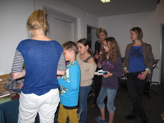 Lesung Kinderschutzbung, Meine Burg, Oktober 2013