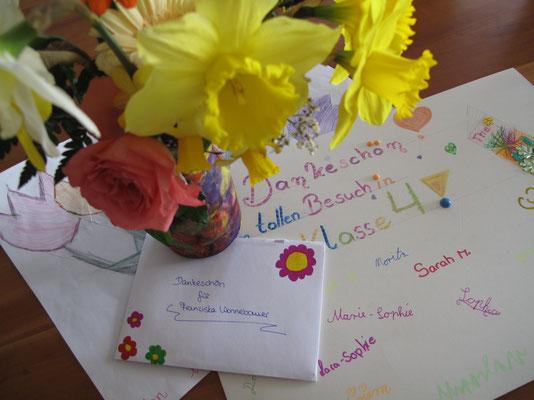 Vielen Dank an die lieben Schüler der Klasse 4 aus Kröv!