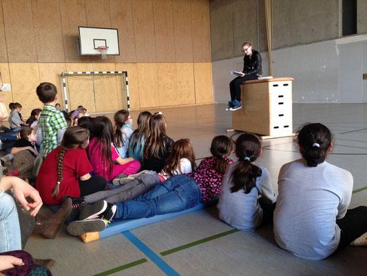 Lesung Grundschule St. Laurentius, Saarburg