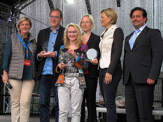 Vergabe des ersten Saar-Hunsrück Literaturpreises