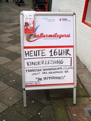 Lesung Kulturmetzgerei Düsseldorf