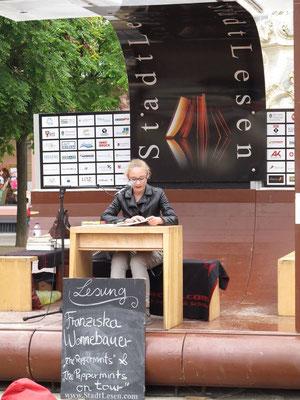 Lesung StadtLesen, Juli 2014
