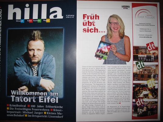 Artikel Hilla-Magazin, Herbst 2013