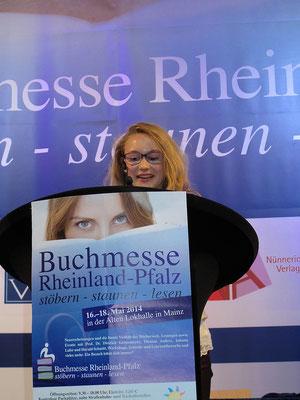 Lesung Buchmesse Mainz, 2014