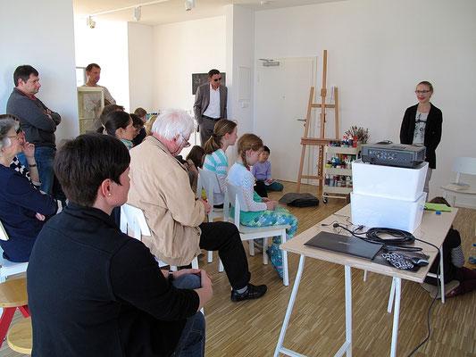 Peppermints-VAMPI-Lesung in der Kreativwerkstatt Trier mit Sandra Baumgärtner ...
