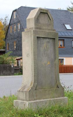 Viertelmeilenstein Zwönitz
