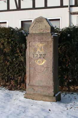 Viertelmeilenstein Falkenau