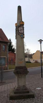 Distanzsäule Neustadt/ Orla, E.-Thälmann-Str.