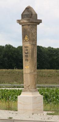 Halbmeilensäule Nentmannsdorf