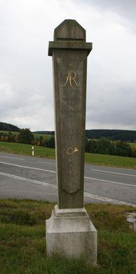 Halbmeilensäule Zwönitz