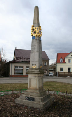 Distanzsäule Doberlug-Kirchhain