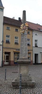 Distanzsäule Senftenberg