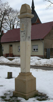Halbmeilensäule Illmersdorf