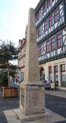 Ganzmeilensäule Bad Langensalza