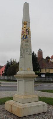 Distanzsäule Eilenburg