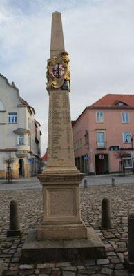 Distanzsäule Neustadt/Sa.