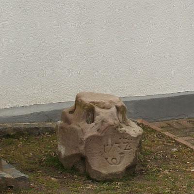 Ganzmeilensäule Göhren (Reststück)