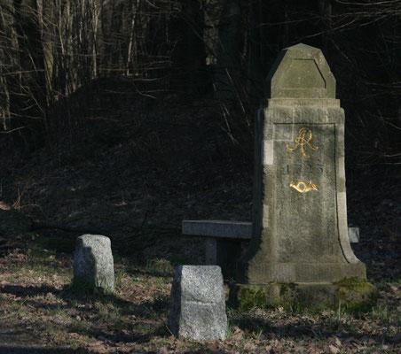 Viertelmeilenstein Schwosdorf
