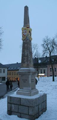 Distanzsäule Oberwiesenthal