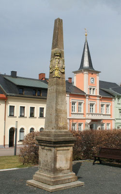 Distanzsäule Frauenstein