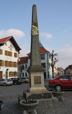 Distanzsäule Wittichenau