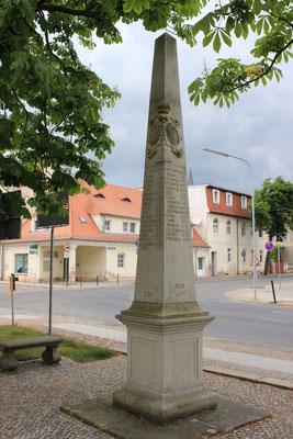 Distanzsäule Mühlberg