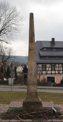 Ganzmeilensäule Burkhardtsdorf