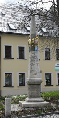 Distanzsäule Jöhstadt