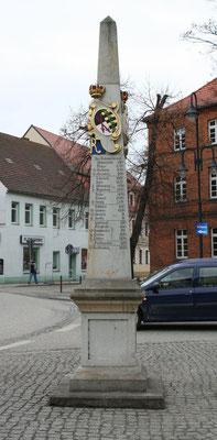 Distanzsäule Bad Liebenwerda