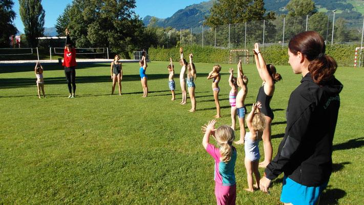13.8.16 - Kids Training mit Nicole Klingler und Mario Weise