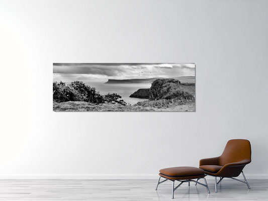 Fair Head, Alu Dibond 210x80cm, 1'925.00 CHF