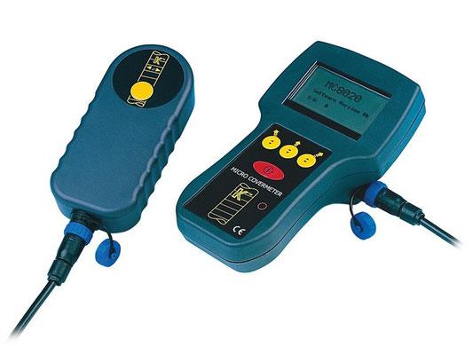 PACOMETRO 8020 - Rilevare la presenza di barre di armatura all'interno di calcestruzzo armato
