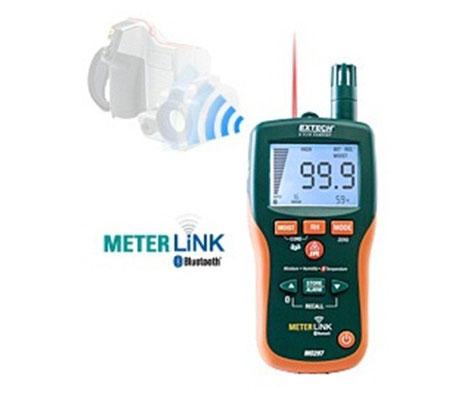 MO297 - Igrometro con Termometro IR + Bluetooth