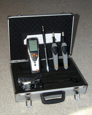 Testo 435.2 – Termoflussimetro per misure ad analisi della trasmittanza delle pareti