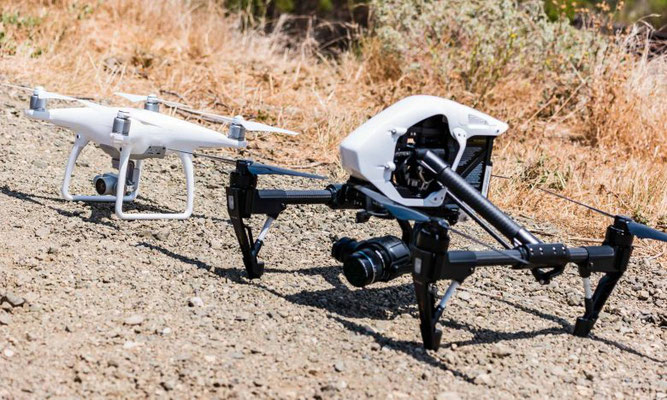 DJI Phantom 3 Professional & DJI Inspire 1 - Rilievo Aerofotogrametrico