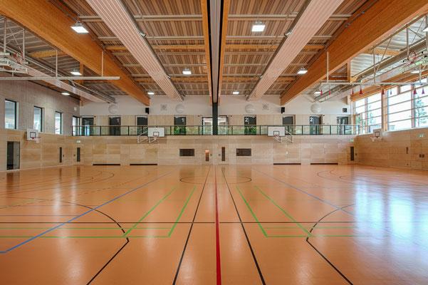 Zweifachsporthalle der Dreifaltigkeitsschule in Amberg