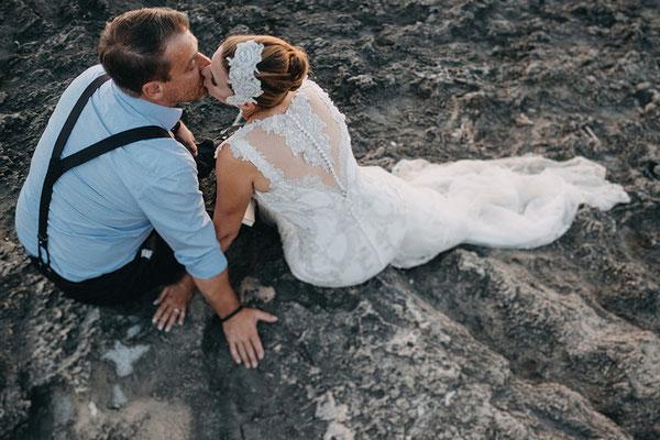Hochzeit Brautkleid mit Spitze