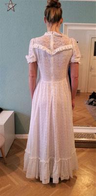80er Jahre Brautkleid