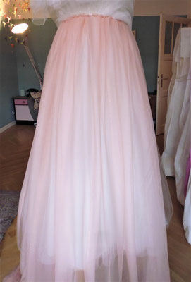 blush Brautkleid