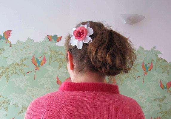 Braut Haarschmuck Blume